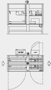 Flex closebox america carton clores tape or glue
