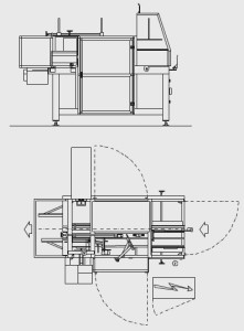 Flex erecta moulding machine