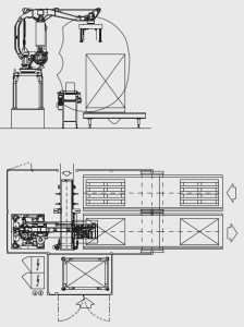 Forte Arm palletizers and depalletizers