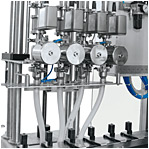 Four one filling valves
